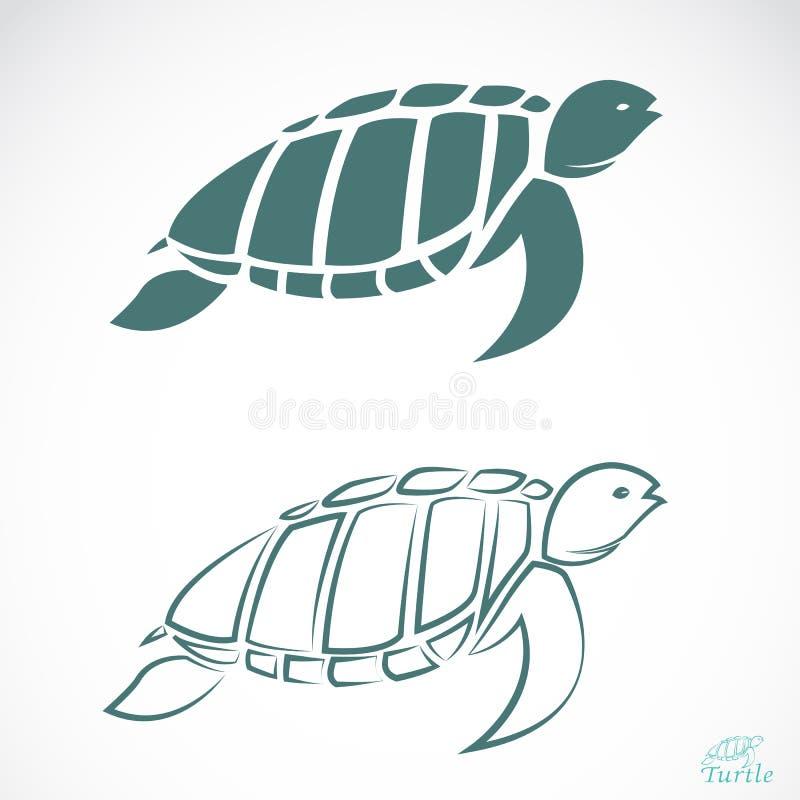 Vectorbeeld van een schildpad vector illustratie