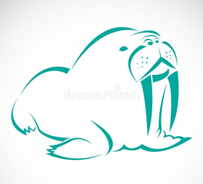 Vectorbeeld van een zeeleeuw vector illustratie