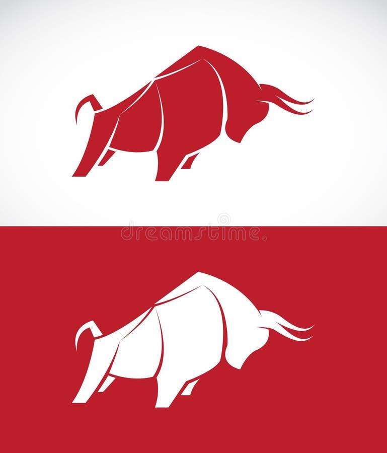 Vectorbeeld van stierenontwerp stock illustratie