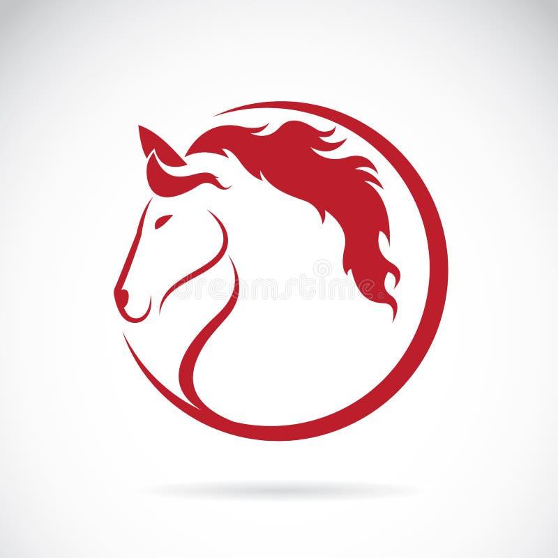 Vectorbeelden van paardontwerp stock illustratie