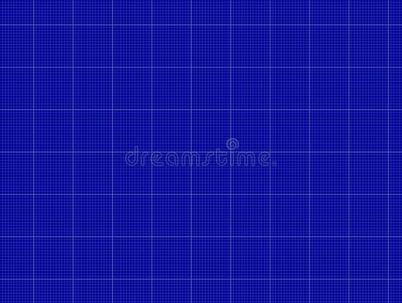 Vectorblauwdrukachtergrond, Lineair Document Malplaatje, Achtergrond stock illustratie