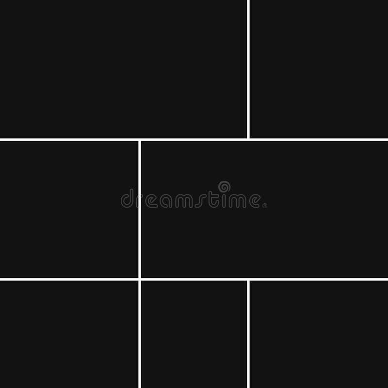 Vectorcollage voor foto's stock illustratie