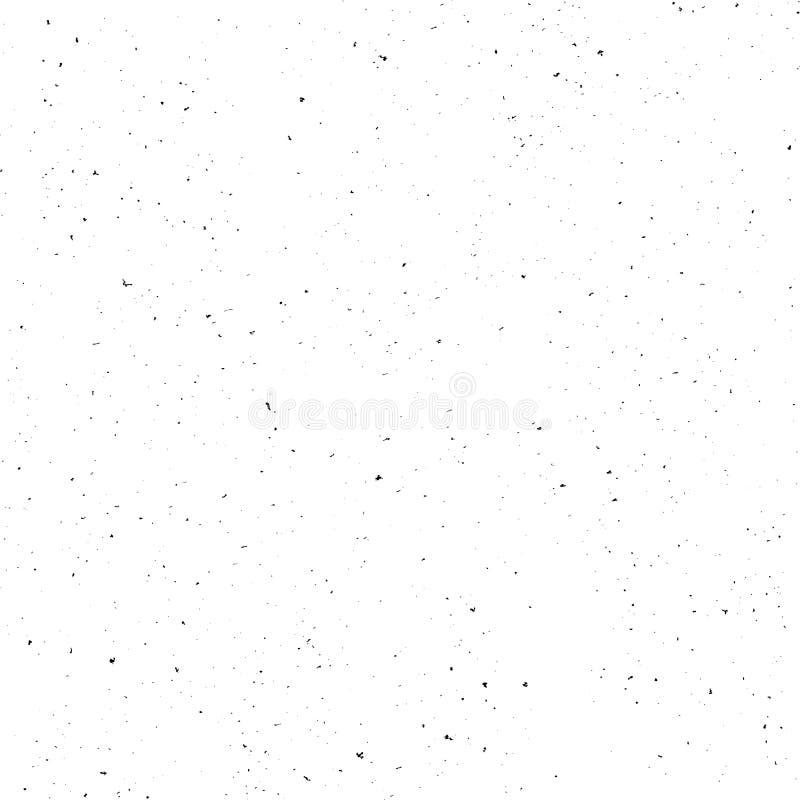 VectordieGrunge-Textuureffect lay-out op witte achtergrond wordt geïsoleerd Retro uitstekend Malplaatje voor uw ontwerp royalty-vrije illustratie