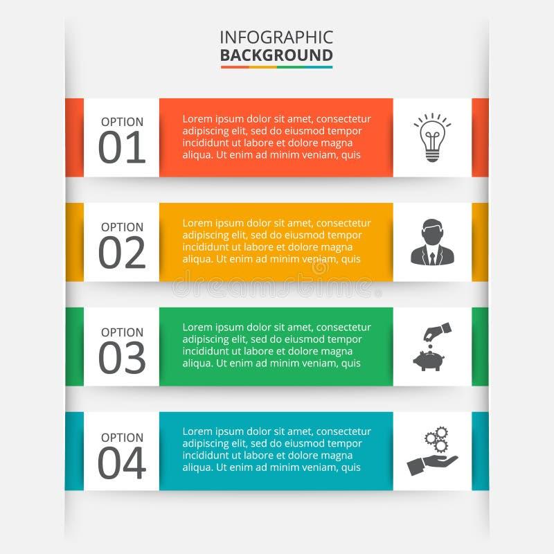 Vectorelement voor infographic royalty-vrije illustratie