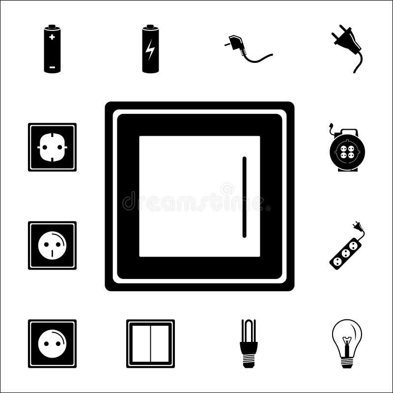 Vectoreps 10 Reeks Energiepictogrammen Grafische het ontwerppictogrammen van de premiekwaliteit Tekens en symboleninzamelingspict vector illustratie