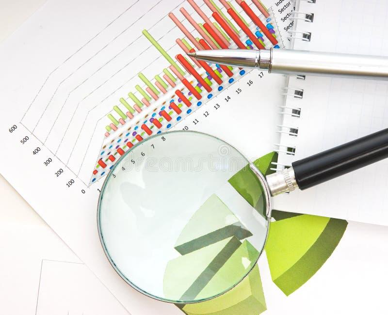 Vectores y documentos de los gráficos imagen de archivo