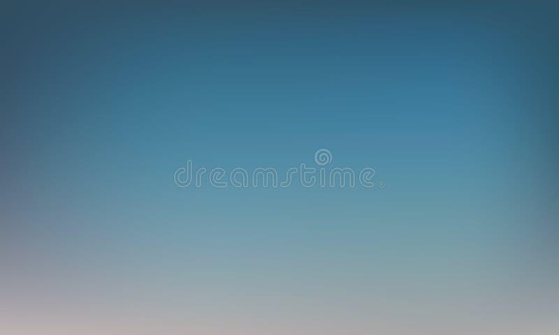 Vectorgradiënt vage achtergrond Natuurlijke kleur Achtergrond voor een uitnodigingskaart of een gelukwens royalty-vrije illustratie