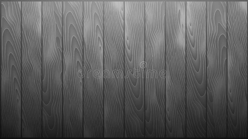 Vectorgray wood background ai 10 vector illustratie