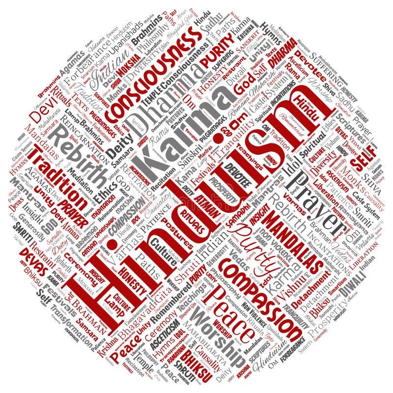 Vectorhinduism, shiva, rama, yoga stock illustratie