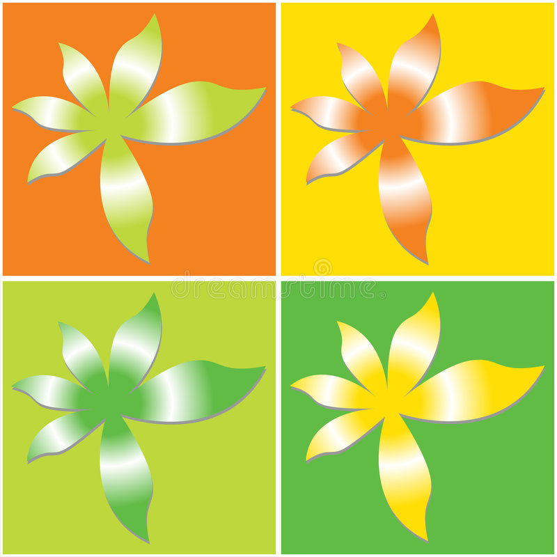 Download Vectorial flower pattern stock vector. Image of illustration - 1617990