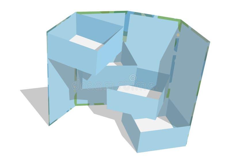 Vectorillustratie eps-10 Vectorweb stock foto