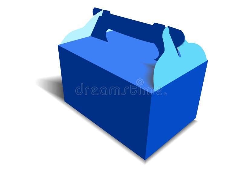 Vectorillustratie van de Doos van de Giftambacht voor Ontwerp stock foto's