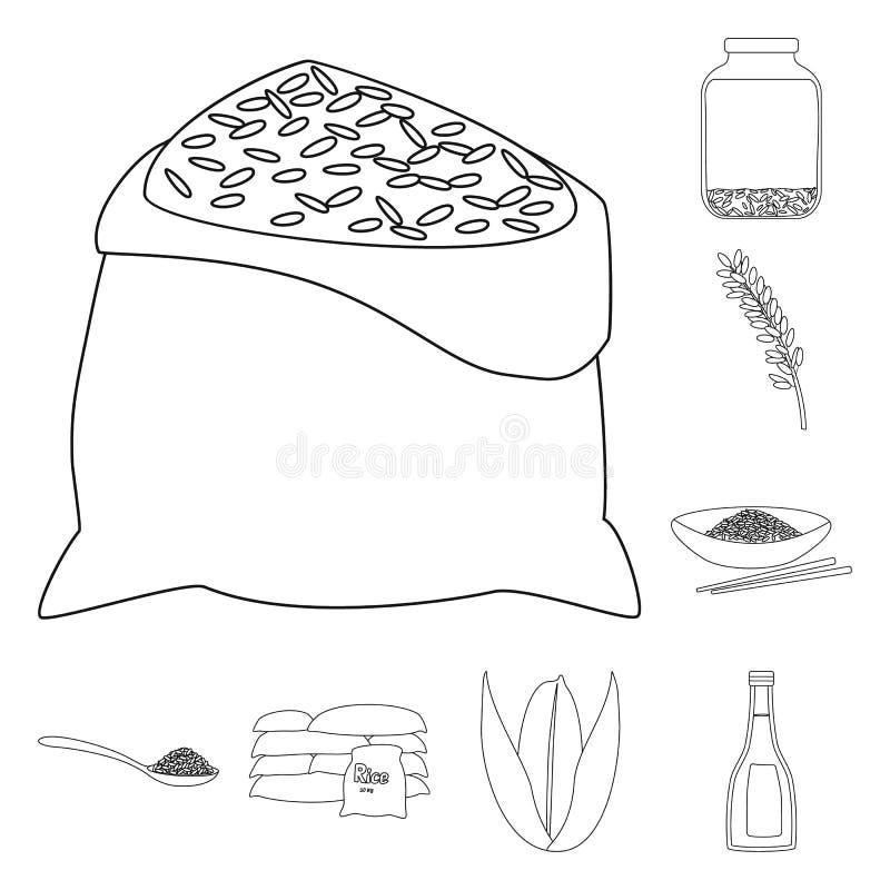 Vectorillustratie van dieet en kokend teken Inzameling van dieet en organisch vectorpictogram voor voorraad vector illustratie
