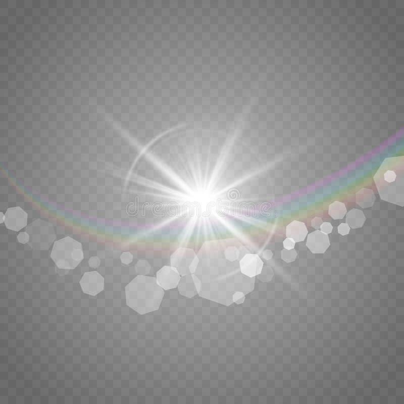 Vectorillustratie van een ochtend vector illustratie