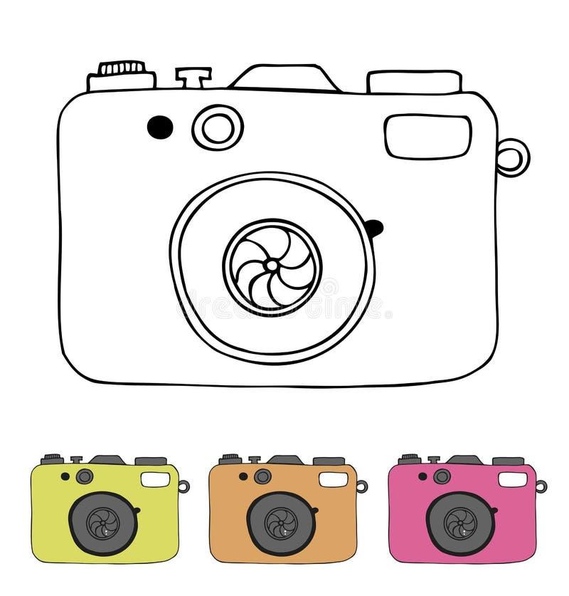 Vectorillustratie van gedetailleerde geïsoleerde pictogrammen van  stock illustratie