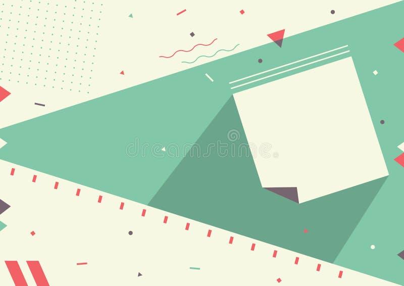 Vectorillustratie van Jonge geitjes Abstracte Achtergrond vector illustratie