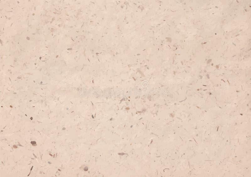 Vectorillustratie van kraftpapier-document textuur royalty-vrije stock fotografie