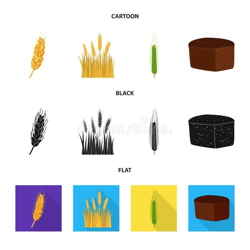 Vectorillustratie van landbouw en de landbouwpictogram Inzameling van landbouw en installatie vectorpictogram voor voorraad vector illustratie