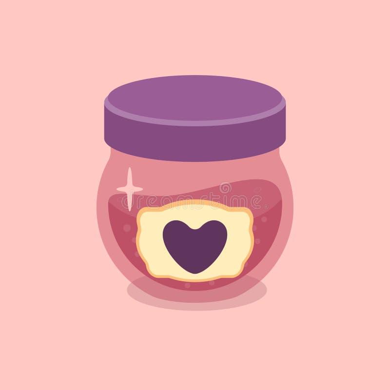 Vectorillustratie van liefdedrankje royalty-vrije illustratie