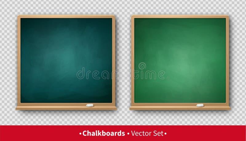 Vectorillustratie van vierkante borden stock illustratie