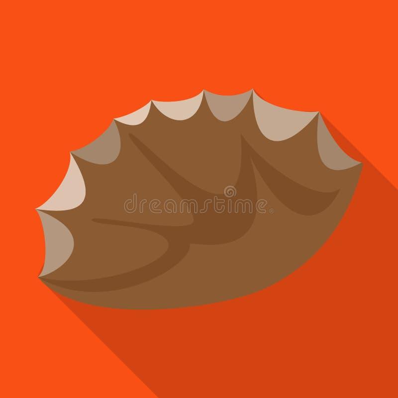 Vectorillustratie van vuursteen en scherp embleem Reeks van vuursteen en het symbool van de evolutievoorraad voor Web vector illustratie