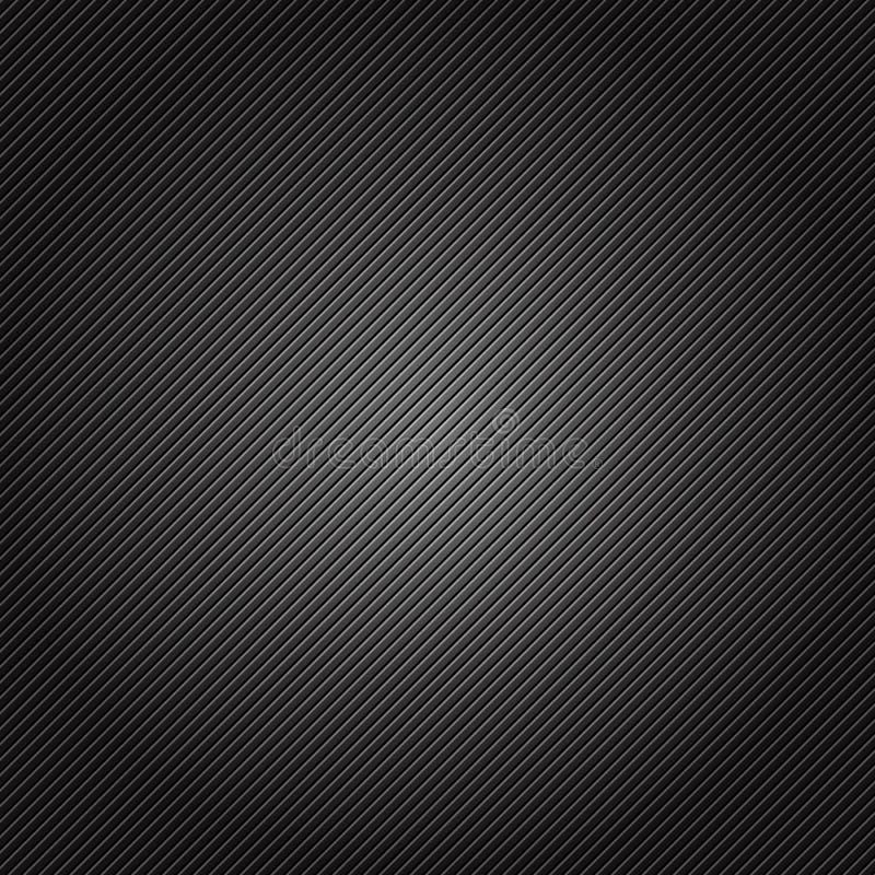 Vectorillustratie van zilveren en zwarte metalltextuur vector illustratie