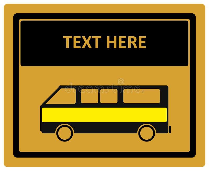 Vectorimage van transportation verkeer het signaleren schoolsignage stock illustratie