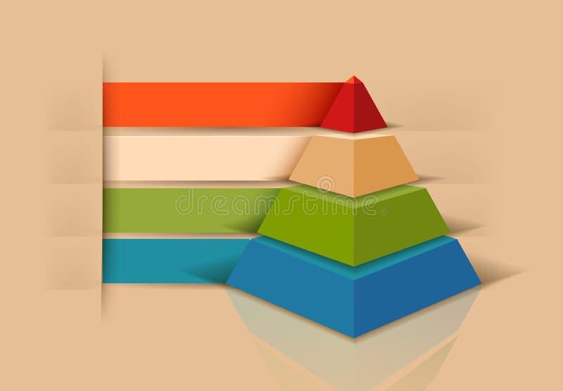 Vectorinfographicselement stock illustratie