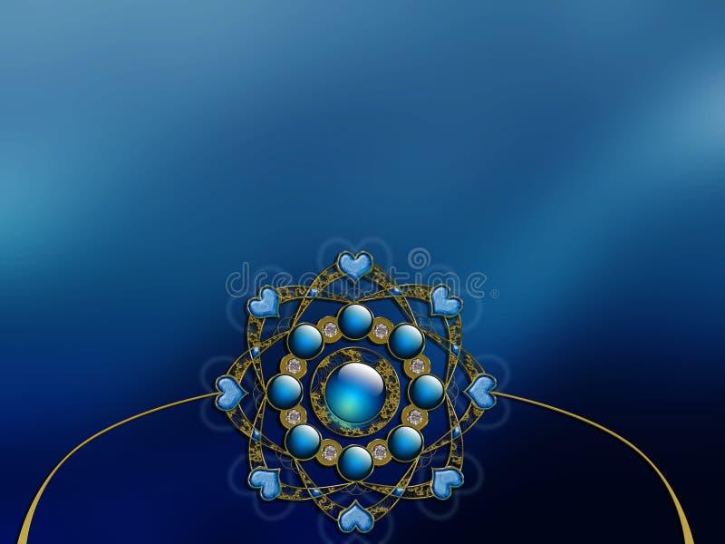 Vectorized Van de Achtergrond foto fractal lay-outontwerp vector illustratie