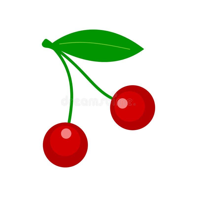 Vectorkers - vers fruit, natuurlijke bes stock illustratie