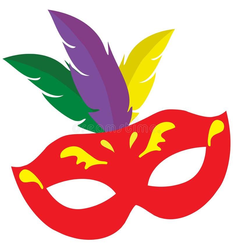 Download Vectormardi Gras Carnival Mask Vector Illustratie - Illustratie bestaande uit venetië, geïsoleerd: 107705660