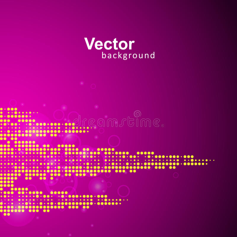 Vectormuziek Eq stock illustratie