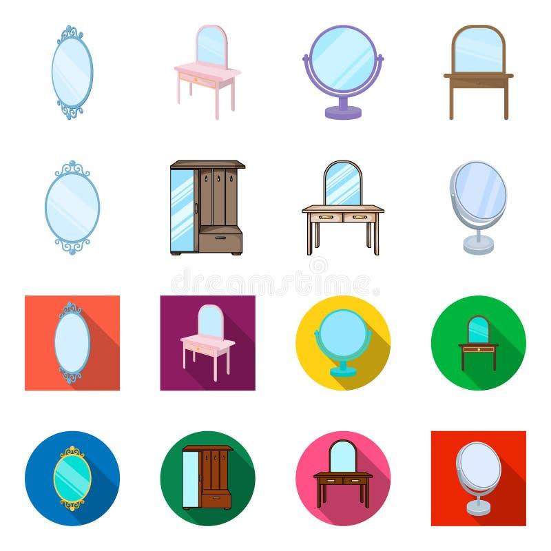 Vectorontwerp van beeldspraak en decoratief teken Reeks van beeldspraak en zilveren vectorpictogram voor voorraad vector illustratie