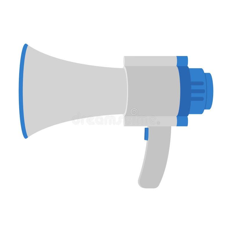 Vectorontwerp van de hand het luide spreker vector illustratie