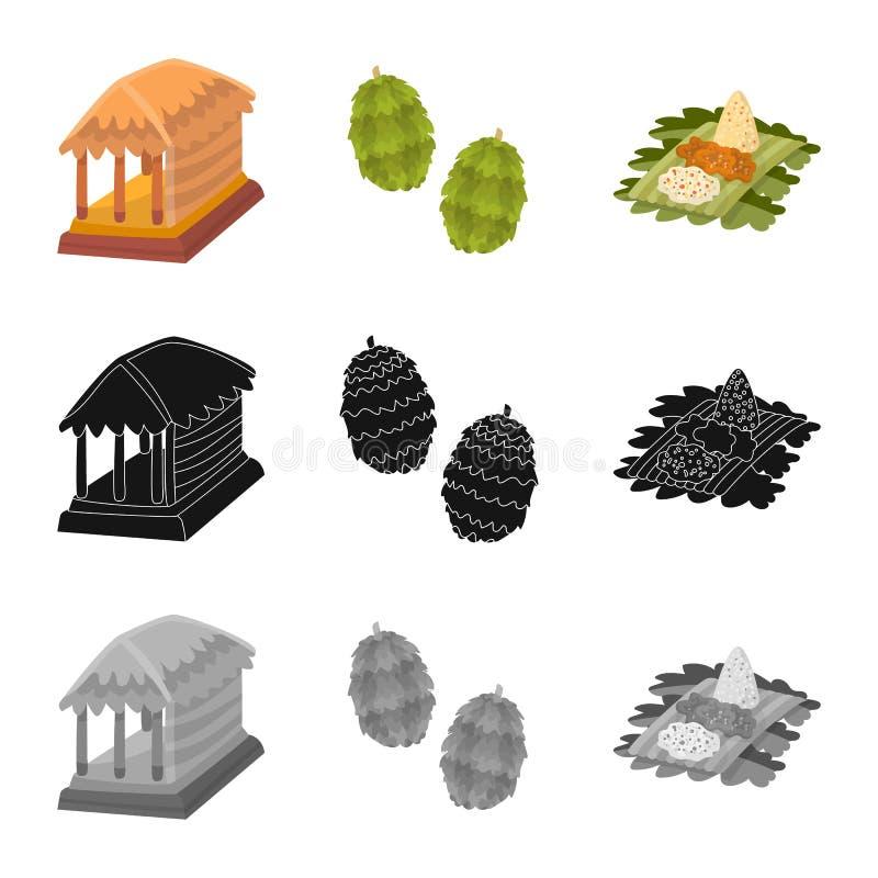 Vectorontwerp van en reispictogram Reeks van en traditioneel voorraadsymbool voor Web vector illustratie
