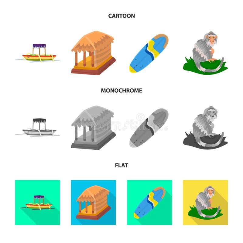Vectorontwerp van en reisteken Reeks van en traditioneel voorraadsymbool voor Web royalty-vrije illustratie