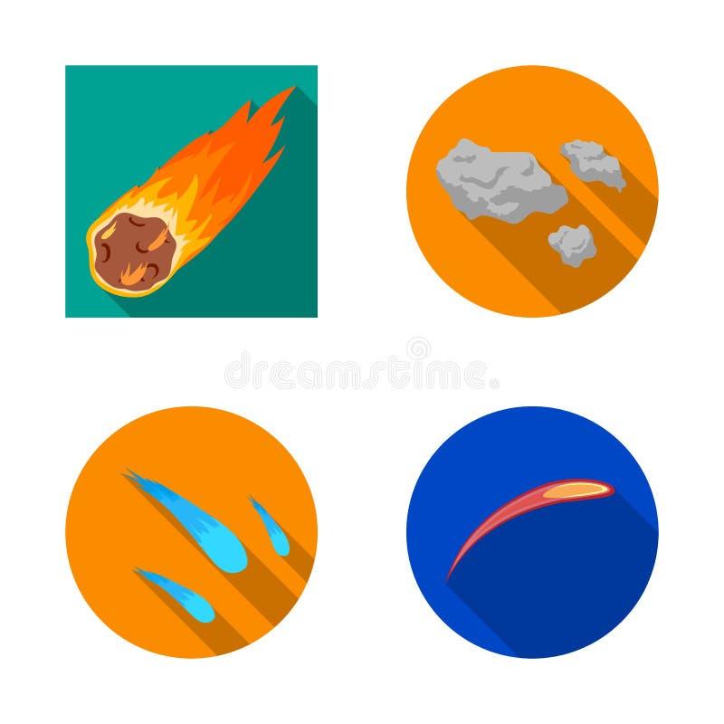 Vectorontwerp van het schieten en brandembleem Reeks van het schieten en stervormig vectorpictogram voor voorraad vector illustratie
