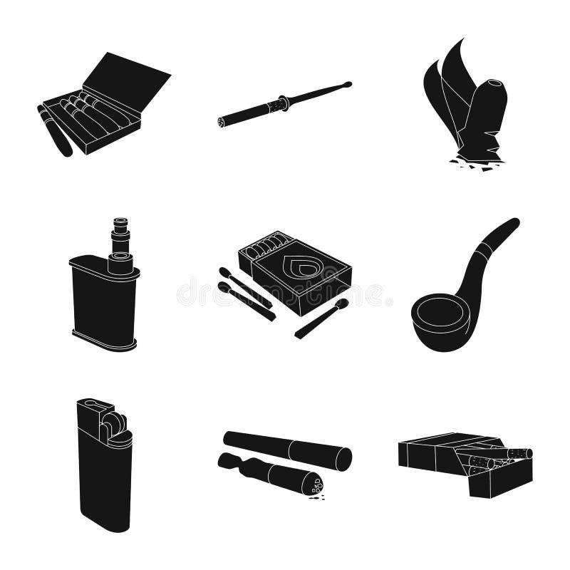 Vectorontwerp van verslaving en euforieembleem Inzameling van verslaving en de vectorillustratie van de gewoontevoorraad royalty-vrije illustratie