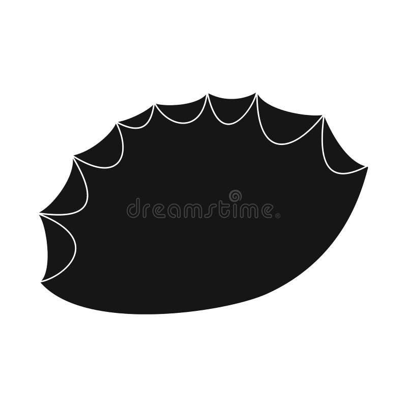 Vectorontwerp van vuursteen en scherp pictogram Inzameling van vuursteen en de vectorillustratie van de evolutievoorraad royalty-vrije illustratie