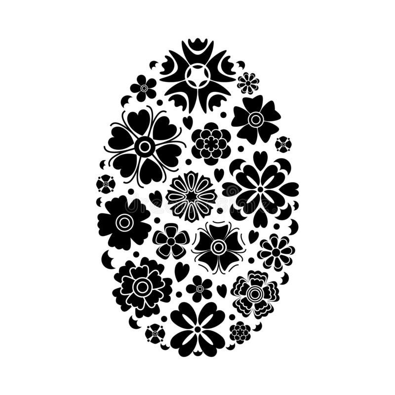 Vectorpaasei royalty-vrije illustratie