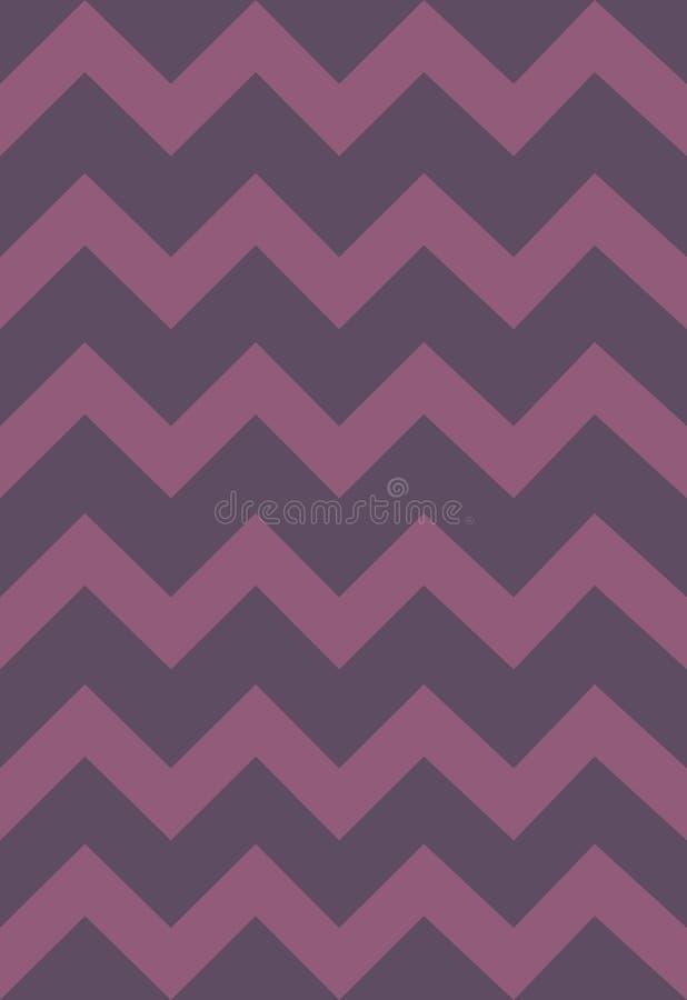 Vectorpatroon met zachte gekleurde strepen, zigzag Document, textuur, achtergrond vector illustratie