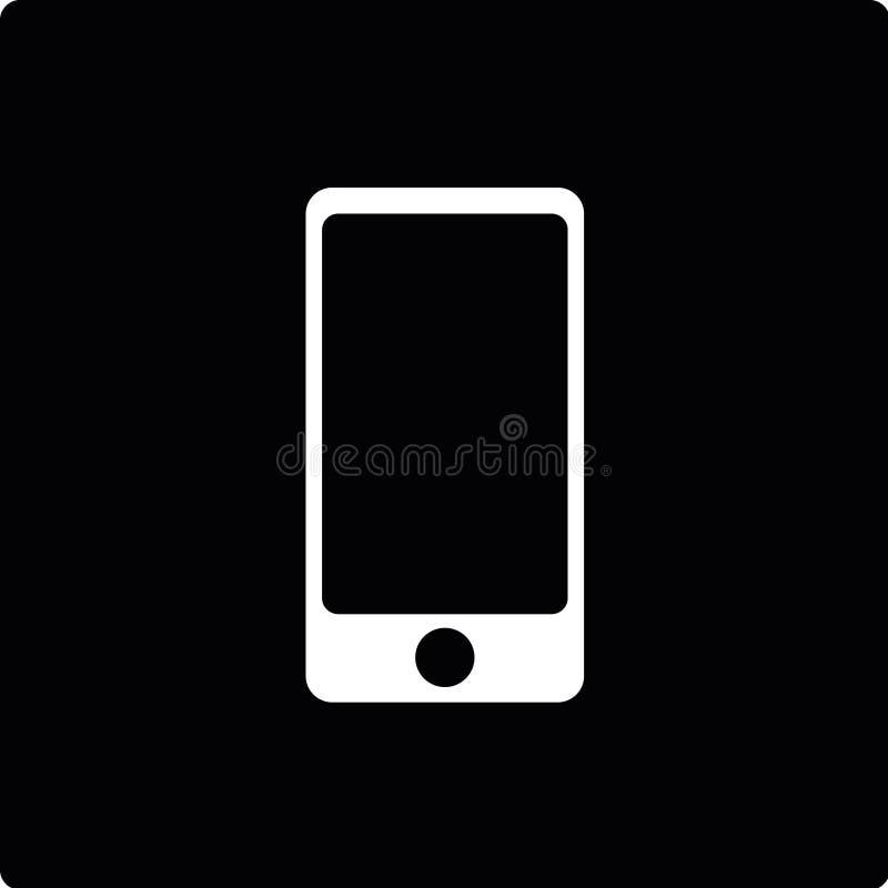 Vectorpictogram van mobil telefoon royalty-vrije stock foto's