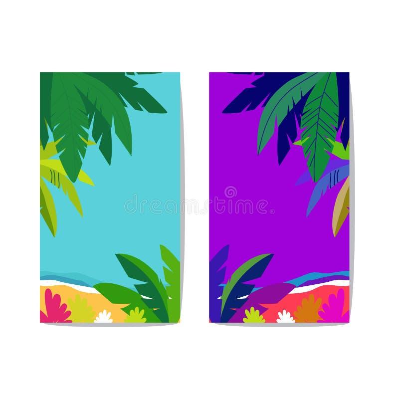 Vectorreeks van abstracte achtergrond met exemplaarruimte voor tekst heldere trillende banner, affiche, dekkingsontwerpsjabloon,  royalty-vrije illustratie