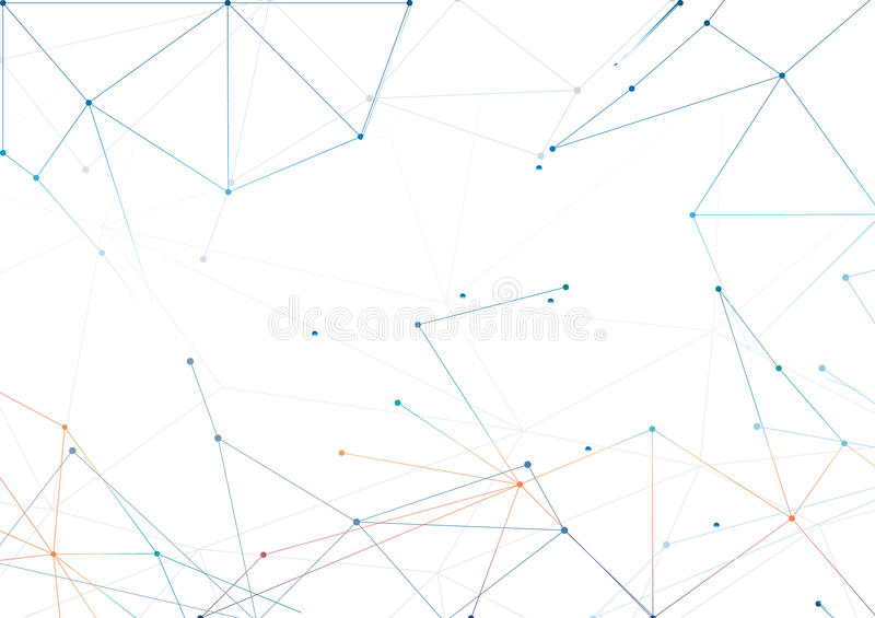 Vectors background abstract polygon design blue stock illustration