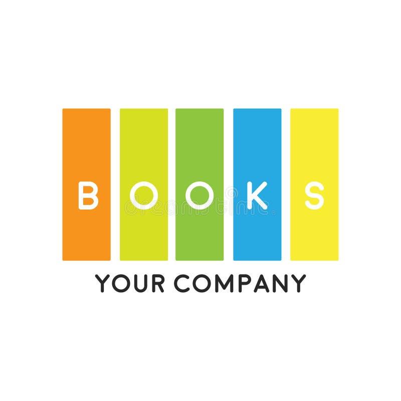 Booklogo Design: The Creative Bookstore Logo Stock Illustration