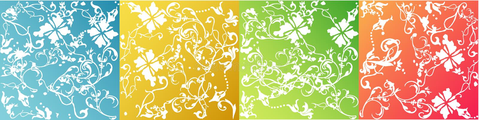 Vectors style backgrounds vector illustration