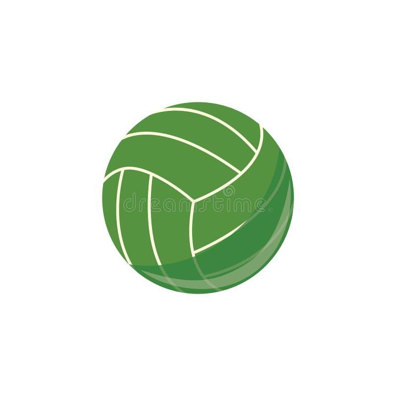 Vectorsalvobal, het eenvoudige pictogram van het sportmateriaal royalty-vrije illustratie
