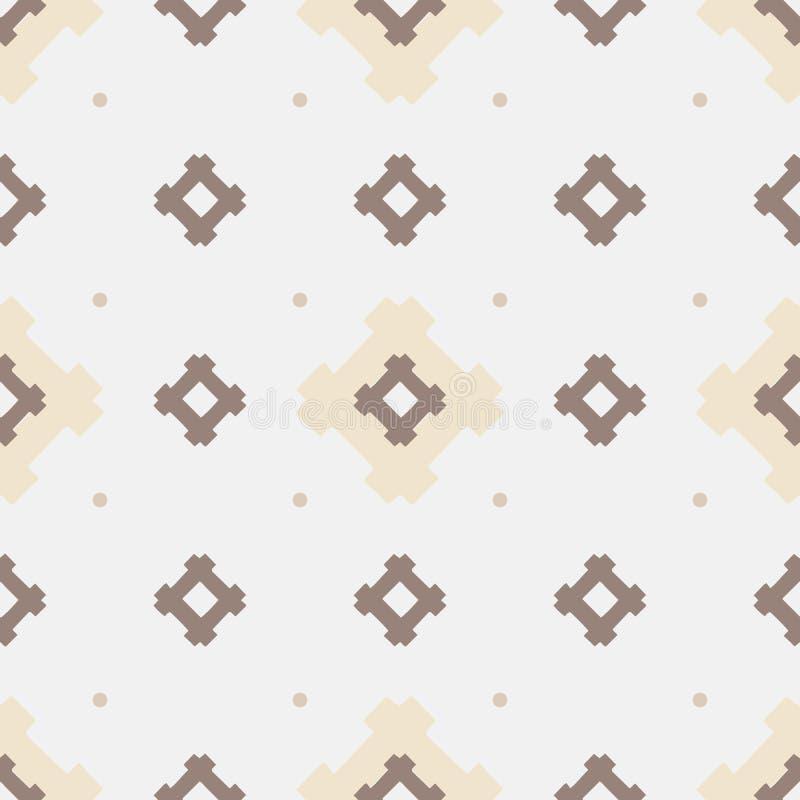 Vectorsamenvatting Gekleurd vector Etnisch geometrisch naadloos patroon royalty-vrije stock fotografie