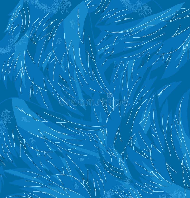 Vectortextuur van engelenvleugels royalty-vrije illustratie