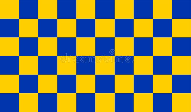 Vectorvlag van de Provincie van Surrey, Engeland Het Verenigd Koninkrijk stock illustratie